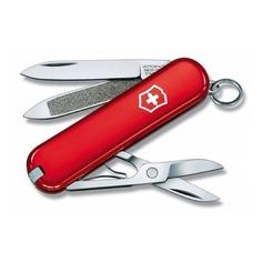 Складной нож VICTORINOX Classic, 7 функций, 58мм, красный [0.6203]