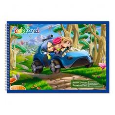 Альбом для рисования Adel ADELAND 434-5503-500 15л. 500x350мм 2диз. спираль Адель