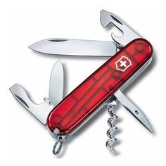 Складной нож VICTORINOX Spartan, 12 функций, 91мм, красный полупрозрачный [1.3603.t]