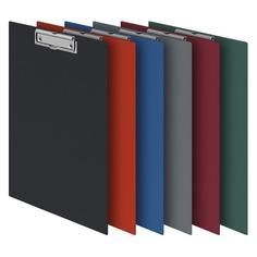 Папка-планшет Durable 4201-31 ПВХ бордовый прижим 35х23см