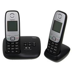 Радиотелефон GIGASET A415A Duo, черный