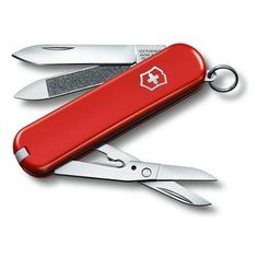 Складной нож VICTORINOX Executive 81, 7 функций, 65мм, красный [0.6423]