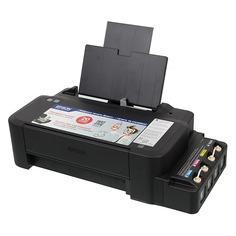 Принтер струйный EPSON L120, струйный, цвет: черный [c11cd76302]