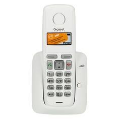 Радиотелефон GIGASET A220, белый [a220 white]