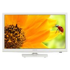 """LED телевизор SAMSUNG UE24H4080AU """"R"""", 24"""", HD READY (720p), белый"""