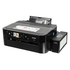 Принтер струйный EPSON L810, струйный, цвет: черный [c11ce32402]