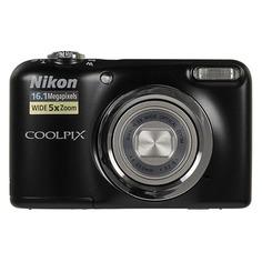 Цифровой фотоаппарат NIKON CoolPix A10, черный