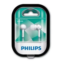 Наушники PHILIPS SHE1450WT/51, вкладыши, белый, проводные