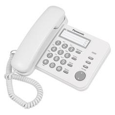 Проводной телефон PANASONIC KX-TS2352RUW, белый