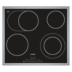 Варочная панель BOSCH PKN645F17R, Hi-Light, независимая, черный