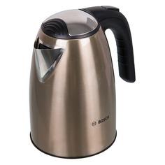 Чайник электрический BOSCH TWK7808, 2200Вт, золотистый