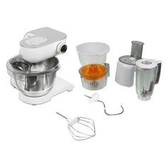 Кухонный комбайн BOSCH MUM58243, серый/белый
