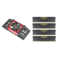Модуль памяти CORSAIR Vengeance LPX CMK64GX4M4B3333C16 DDR4 - 4x 16Гб 3333, DIMM, Ret