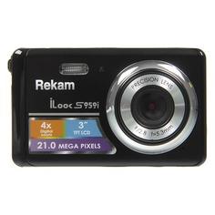 Цифровой фотоаппарат REKAM iLook S959i, черный