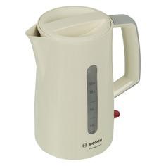 Чайник электрический BOSCH TWK3A017, 2400Вт, бежевый