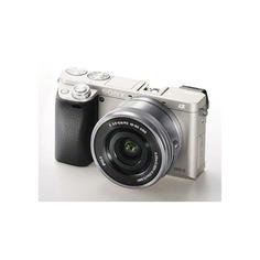 Фотоаппарат SONY Alpha A6000LS kit ( E PZ 16-50мм f/3.5-5.6 OSS), серебристый [ilce6000ls.cec]