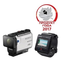 Экшн-камера SONY FDR-X3000R 4K, WiFi, белый [fdrx3000r.e35]