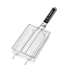 Решетка-гриль для барбекю Forester BQ-N13 для мелких кусочков средняя прямоугольная 24х17см
