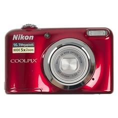 Цифровой фотоаппарат NIKON CoolPix A10, красный
