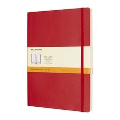 Блокнот Moleskine CLASSIC SOFT XLarge 190х250мм 192стр. линейка мягкая обложка красный