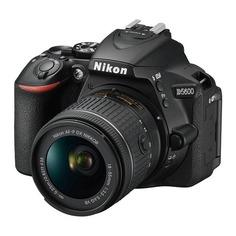 Зеркальный фотоаппарат NIKON D5600 kit ( 18-55 VR AF-P f/3.5-5.6G), черный