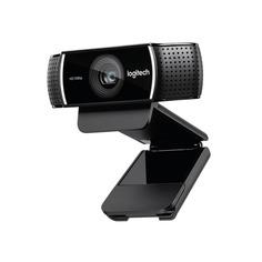Web-камера LOGITECH Pro Stream C922, черный и черный [960-001088]