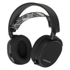 Наушники с микрофоном STEELSERIES Arctis 3, мониторы, черный [61433]