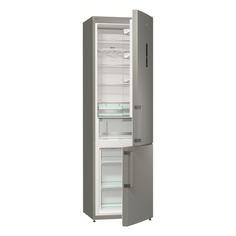 Холодильник GORENJE NRK6201MX, двухкамерный, серебристый
