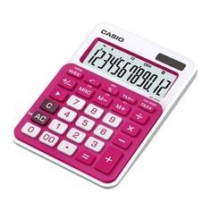 Калькулятор CASIO MS-20NC-RD-S-EC, 12-разрядный, красный