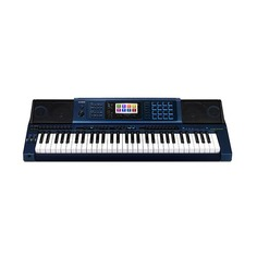 Синтезатор CASIO MZ-X500, 61, полновзвешенная, полноразмерные, 128, синий