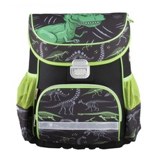 Ранец Hama DINO черный/зеленый Динозавр