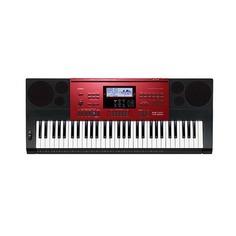 Синтезатор CASIO CTK-6250, 61, невзвешенная, полноразмерные, 48, красный