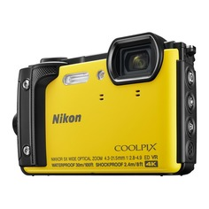 Цифровой фотоаппарат NIKON CoolPix W300, желтый
