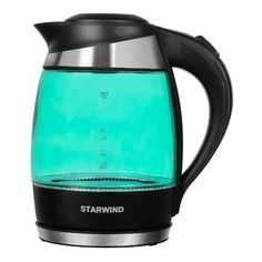 Чайник электрический STARWIND SKG2219, 2200Вт, бирюзовый