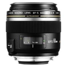 Объектив CANON 60mm f/2.8 EF-S USM, Canon EF-S [0284b007]