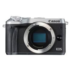 Фотоаппарат CANON EOS M6 body, черный/ серебристый [1725c002]