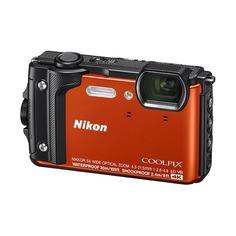 Цифровой фотоаппарат NIKON CoolPix W300, оранжевый