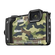 Цифровой фотоаппарат NIKON CoolPix W300, камуфляж