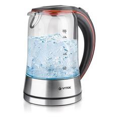 Чайник электрический VITEK VT-7005-01, 2200Вт, серебристый