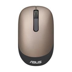 Мышь ASUS WT205 оптическая беспроводная USB, золотистый [90xb03m0-bmu000]