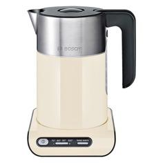 Чайник электрический BOSCH TWK8617P, 2400Вт, бежевый и серебристый