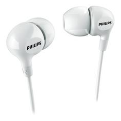 Наушники PHILIPS SHE3550WT, вкладыши, белый, проводные