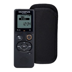 Диктофон OLYMPUS VN-541PC + CS131 soft case 4 Gb, черный