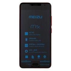 Смартфон MEIZU M5c 16Gb, M710H, красный