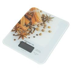 Весы кухонные POLARIS PKS0832DG, белый/специи