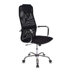 Кресло руководителя БЮРОКРАТ KB-9, на колесиках, сетка, черный [kb-9/black]