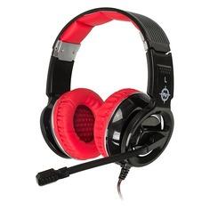 Наушники с микрофоном OKLICK HS-L350G RED WAR, мониторы, черный