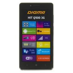 Смартфон DIGMA Q500 3G HIT, серый