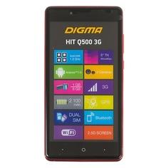 Смартфон DIGMA Q500 3G HIT, красный
