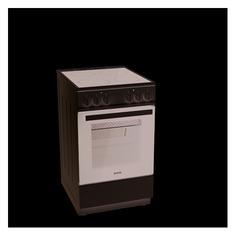 Электрическая плита GORENJE EC5121WG-B, стеклокерамика, белый